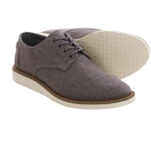 TOMS Chambray Classics Brogue Shoes (For Men) in Grey - Closeouts