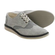 TOMS Chambray Classics Brogue Shoes (For Men) in Specialty Grey - Closeouts