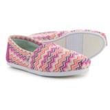 TOMS Chevron Classic Alpargata Shoes - Slip-Ons (For Women)