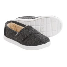 TOMS Classic Shoes (For Toddlers) in Black - Closeouts