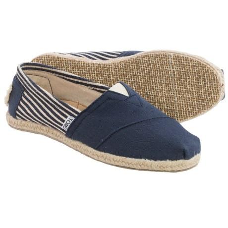 TOMS Classics University Shoes Slip Ons (For Women)