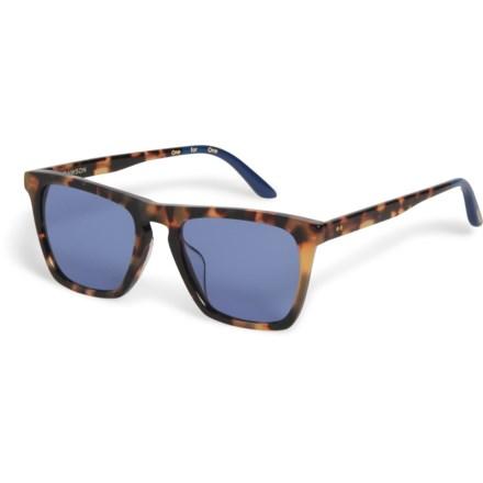 b46be8b2e517 TOMS Dawson Sunglasses (For Women) in Blonde Tortoise/Blue