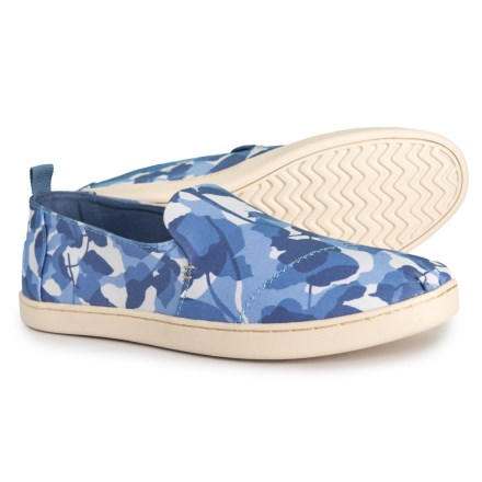 90b8ce264c TOMS Deconstructed Alpargata Shoes - Slip-Ons (For Women) in Infinity Blue -