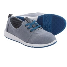 TOMS Del Rey Pull-On Sneakers (For Little and Big Kids) in Blue - Closeouts