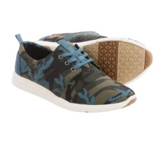 TOMS Del Rey Sneakers - Canvas (For Women) in Camo - Closeouts