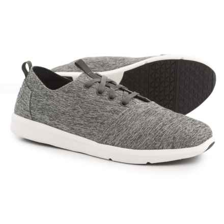 TOMS Del Rey Sneakers (For Men) in Forged Iron Grey - Closeouts
