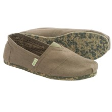 TOMS Earthwise Classics Shoes - Slip-Ons (For Men) in Light Grey - Closeouts