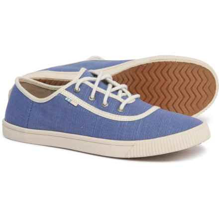 TOMS Heritage Canvas Carmel Sneakers (For Women) in Infinity Blue