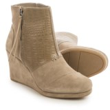 TOMS High Desert Wedge Ankle Boots - Suede (For Women)
