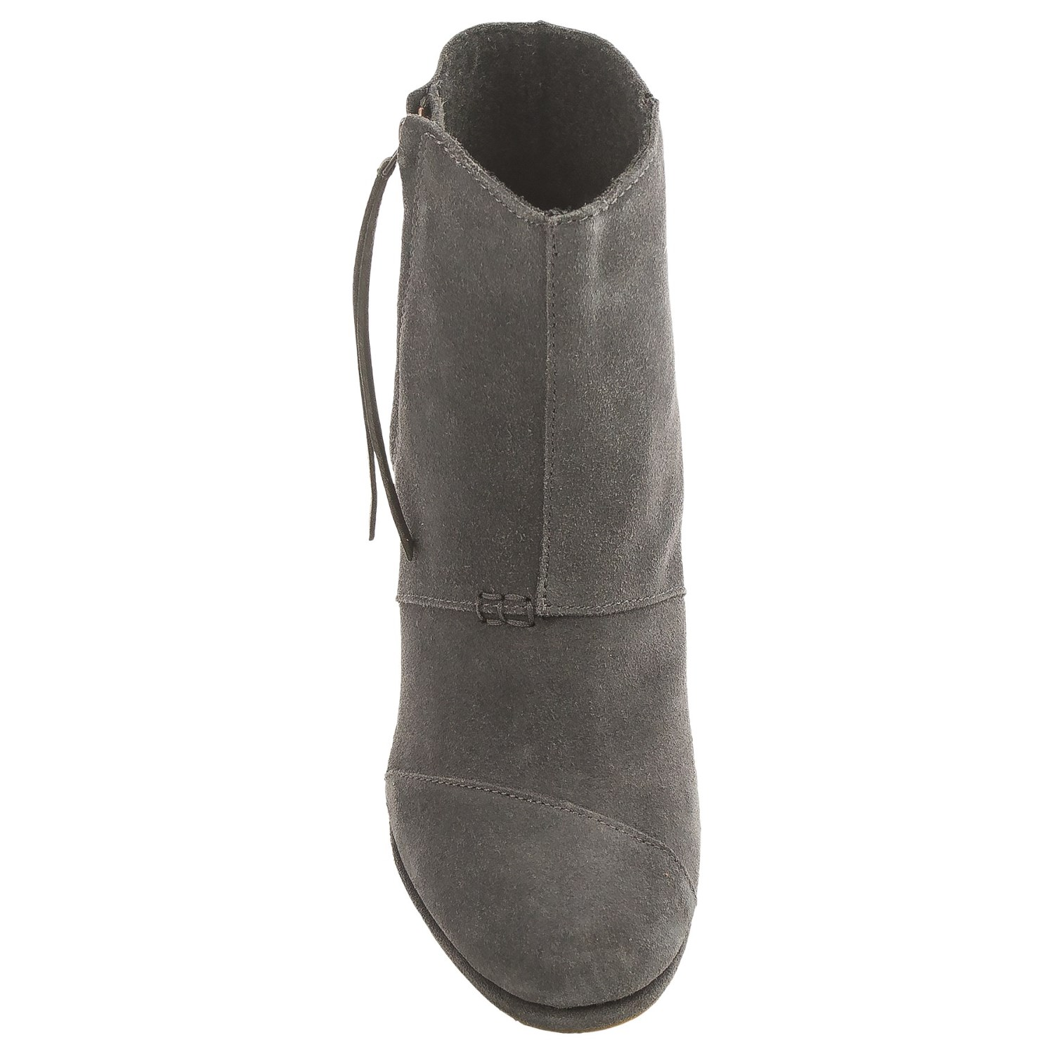 toms high desert wedge ankle boots for