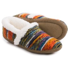 TOMS House Slippers - Chenille Lined (For Women) in Multi - Closeouts