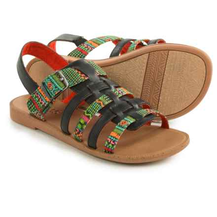 TOMS Huarache Sandals (For Little and Big Girls) in Multi - Closeouts