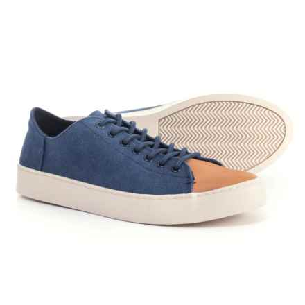 TOMS Lenox Sneakers (For Men) in Navy - Closeouts