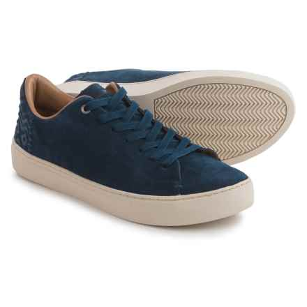 TOMS Lenox Suede Sneakers (For Men) in Navy Suede - Closeouts