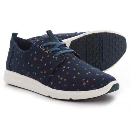 TOMS Light Burst Del Rey Sneakers (For Women) in Navy - Closeouts