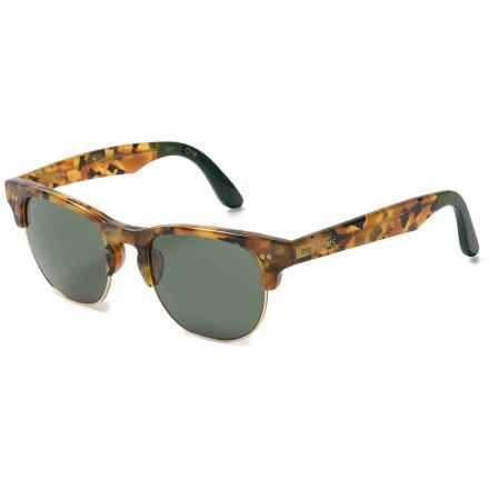 TOMS Lobamba Sunglasses in Pantort Olive Green/Green Grey - Closeouts
