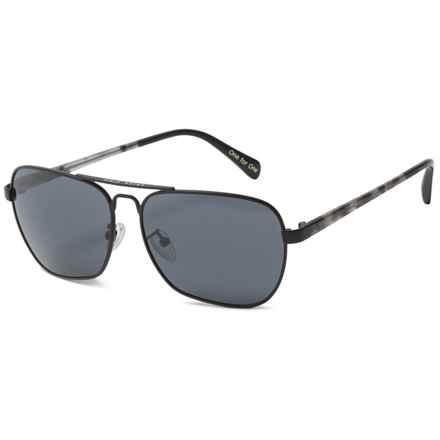 TOMS Navigator 201 Sunglasses in Matte Gunmetal/Dark Gray - Closeouts