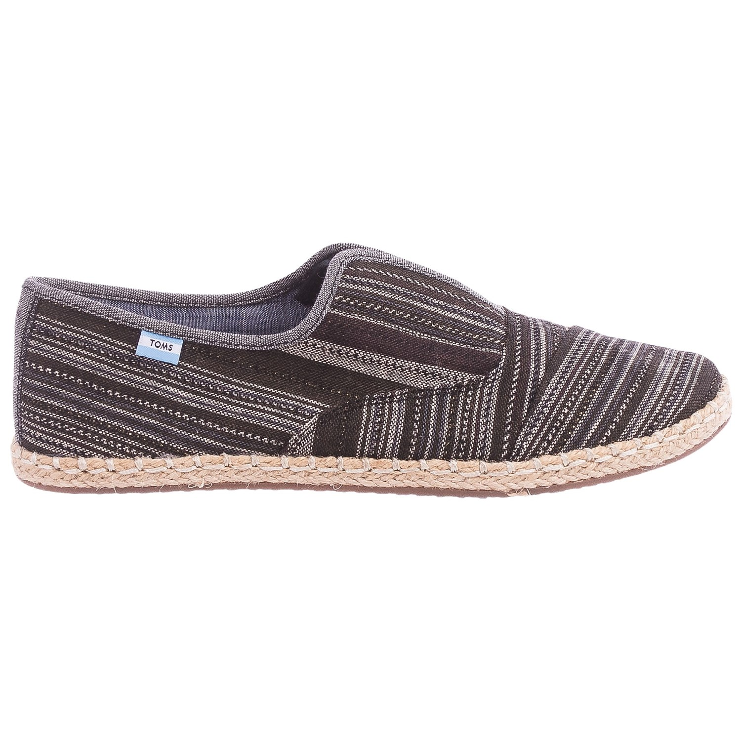 toms palmera metallic stripe shoes for
