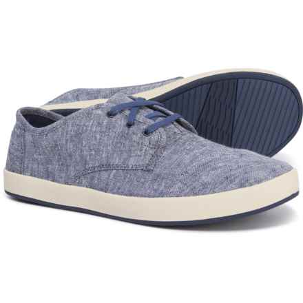 TOMS Paseo Chambray Sneakers (For Men) in Navy