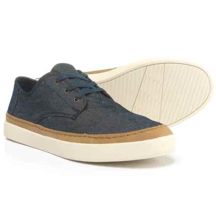 TOMS Paseo Denim Sneakers (For Men) in Navy Denim - Closeouts