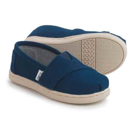 TOMS Sashiko Shoes (For Toddlers and Little Boys) in Indigo - Closeouts