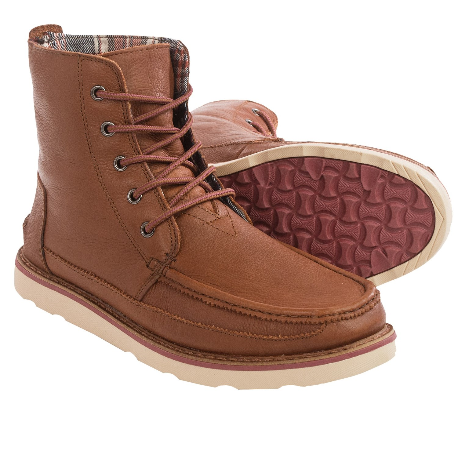 toms searcher leather boots for