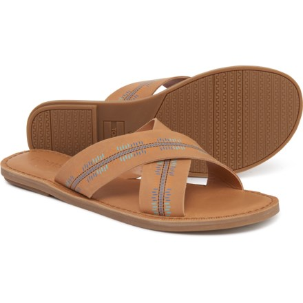 86efe441e6b5 TOMS Viv Embossed Sandals - Leather (For Women) in Honey