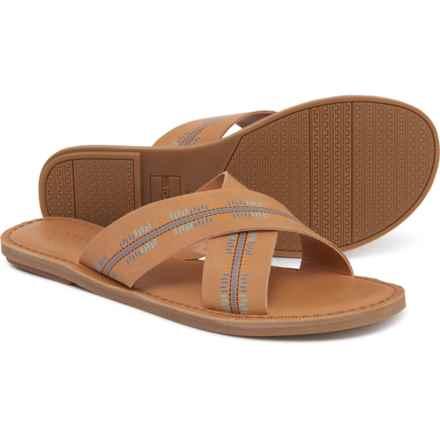86efe441e6b5 TOMS Viv Embossed Sandals - Leather (For Women) in Honey