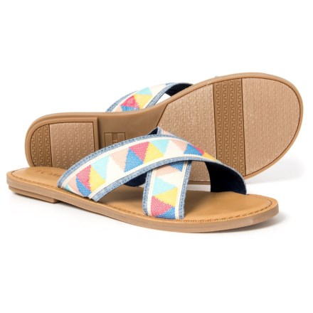 8b2addac490 TOMS Viv Slide Sandals (For Women) in Mulit - Closeouts