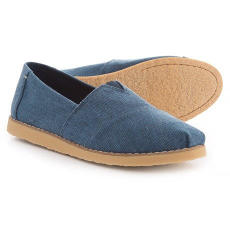 TOMS Alpargata Crepe Washed Canvas Slip-On YDaClQx
