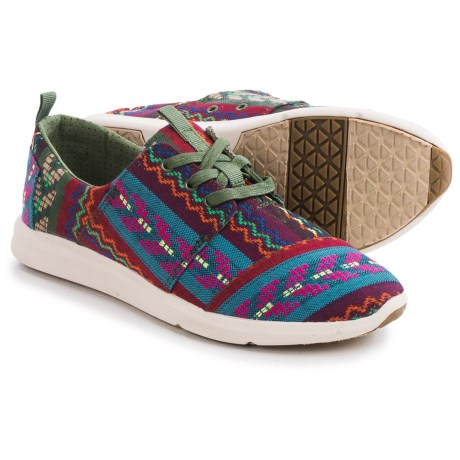 TOMS Woven Cultural Del Rey Sneakers (For Women)