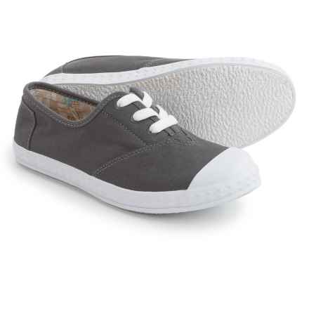 TOMS Zuma Sneakers (For Kids) in Grey Canvas - Closeouts
