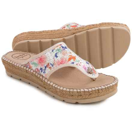 Toni Pons Bandol Thong Sandals (For Women) in Multi - Closeouts