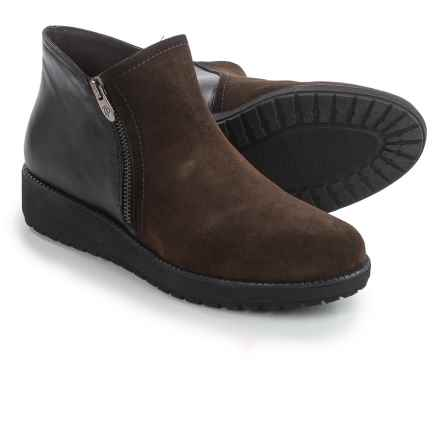Toni Pons Gladys Boots - Leather (For Women) in Brown/Black - Closeouts