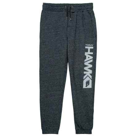 Tony Hawk Fleece Joggers (For Big Boys) in Anthracite - Closeouts