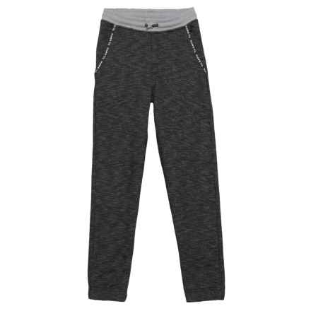 Tony Hawk French Terry Moto Joggers (For Big Boys) in Anthracite - Closeouts