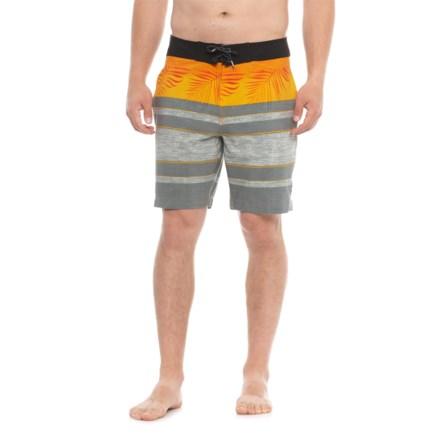 d044da44e2d1c8 Tony Hawk Palm Striped Boardshorts - UPF 50 (For Men) in Orange - Closeouts