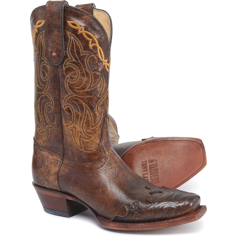 "47720ff094078 Tony Lama 11"" Dasah Fashion Wingtip Western Boots (For Women) - Save 58%"