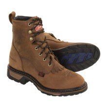 Tony Lama TLX Cheyenne Packer Boots - Waterproof (For Women) in Tan - Closeouts