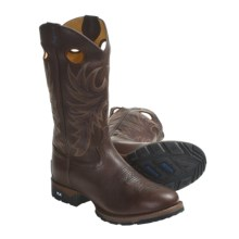 "Tony Lama TLX Western Work Boots - 13"", Round Toe (For Men) in Russet - Closeouts"