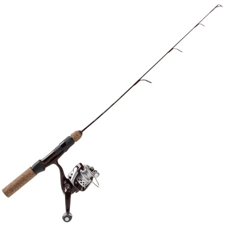 Tony Roach Power Ice Rod and Reel Spinning Combo – 24? Lightweight