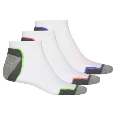 Top Flite Golf Socks - 3-Pack, Below the Ankle (For Men) in White - Closeouts