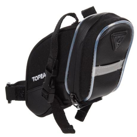 Topeak Aero Wedge iGlow Bike Bag - Medium in See Photo