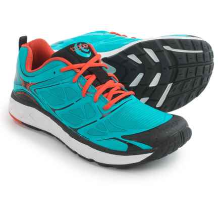 Topo Athletic Fli-Lyte Running Shoes (For Men) in Cyan/Orange - Closeouts