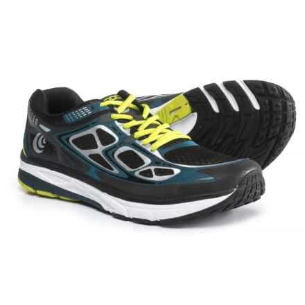 Topo Athletic Magnifly Running Shoes (For Men) in Black/Navy - Closeouts