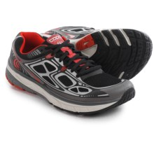 Topo Athletic Magnifly Running Shoes (For Men) in Black/Red - Closeouts