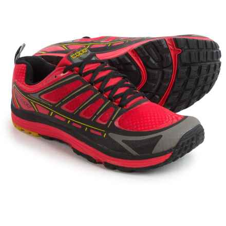 Topo Athletic Runventure Trail Running Shoes (For Men) in Red/Black - Closeouts