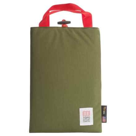Topo Designs Laptop Sleeve in Olive - Closeouts