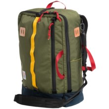 Topo Designs Travel Bag (For Men and Women) in Navy/Olive - Closeouts