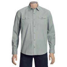 Topo Ranch The Banker Shirt - Organic Cotton, Long Sleeve (For Men) in Storm - Closeouts